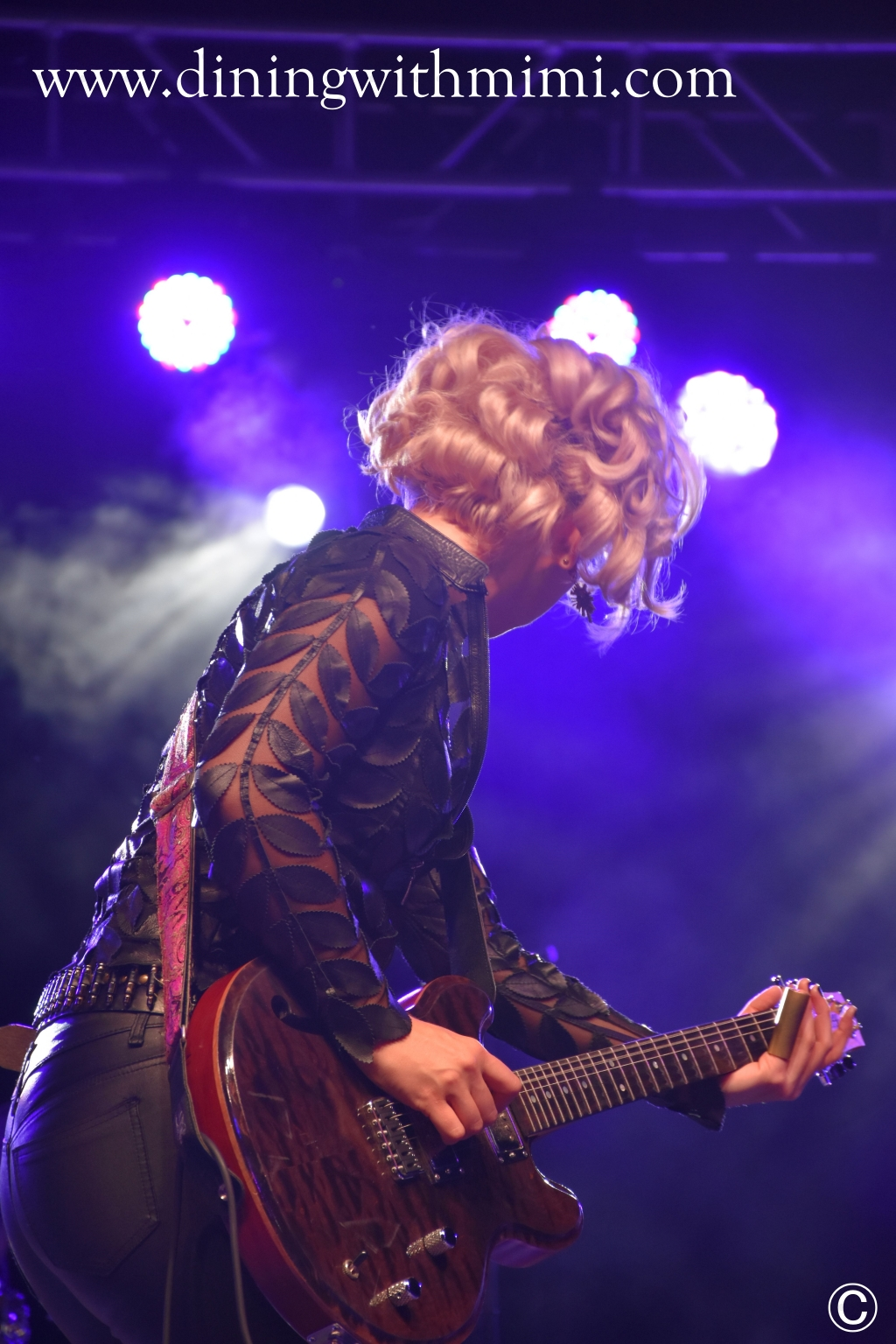 Samantha Fish Brains, Beauty and Slaying a Guitar as Samantha Fish www.diningwithmimi.com