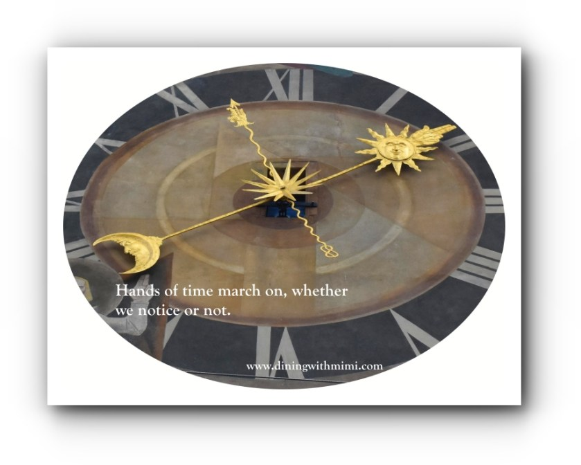 Time Marching on with February 2020 with Hoda Wan Kenobi www.diningwithmimi.com