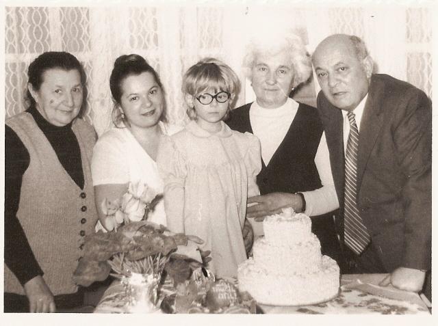 cu bunicii - Ganduri din mansarda, un an din viata