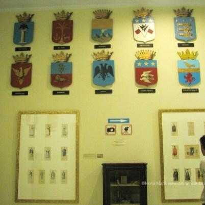 O colectie importanta a blazoanelor celor mai importante familii din Zakynthos