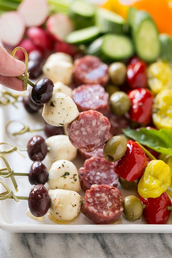 Italian Appetizers Dinner Party