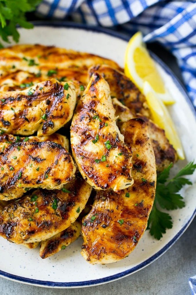 Grilled Chicken Tenders - Dinner at the Zoo