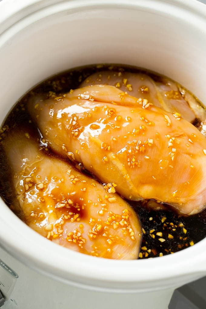 Crock-Pot Chicken Teriyaki - Easy Recipes