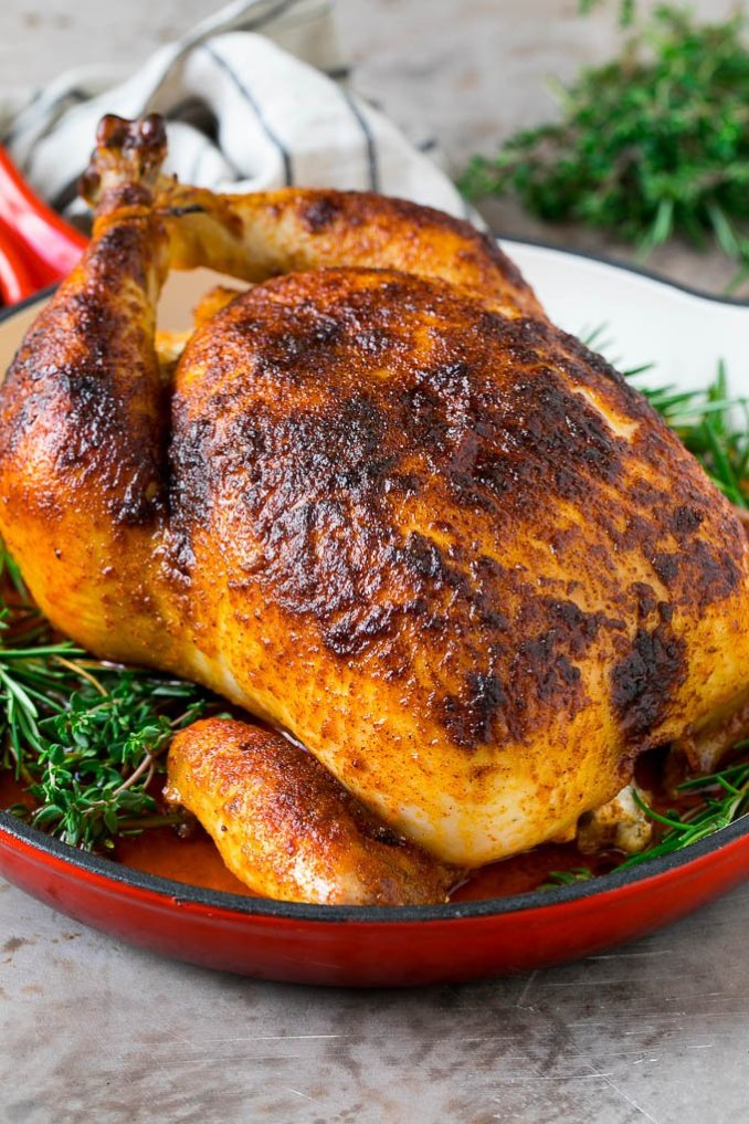 Rotisserie Chicken Recipe - Dinner at the Zoo