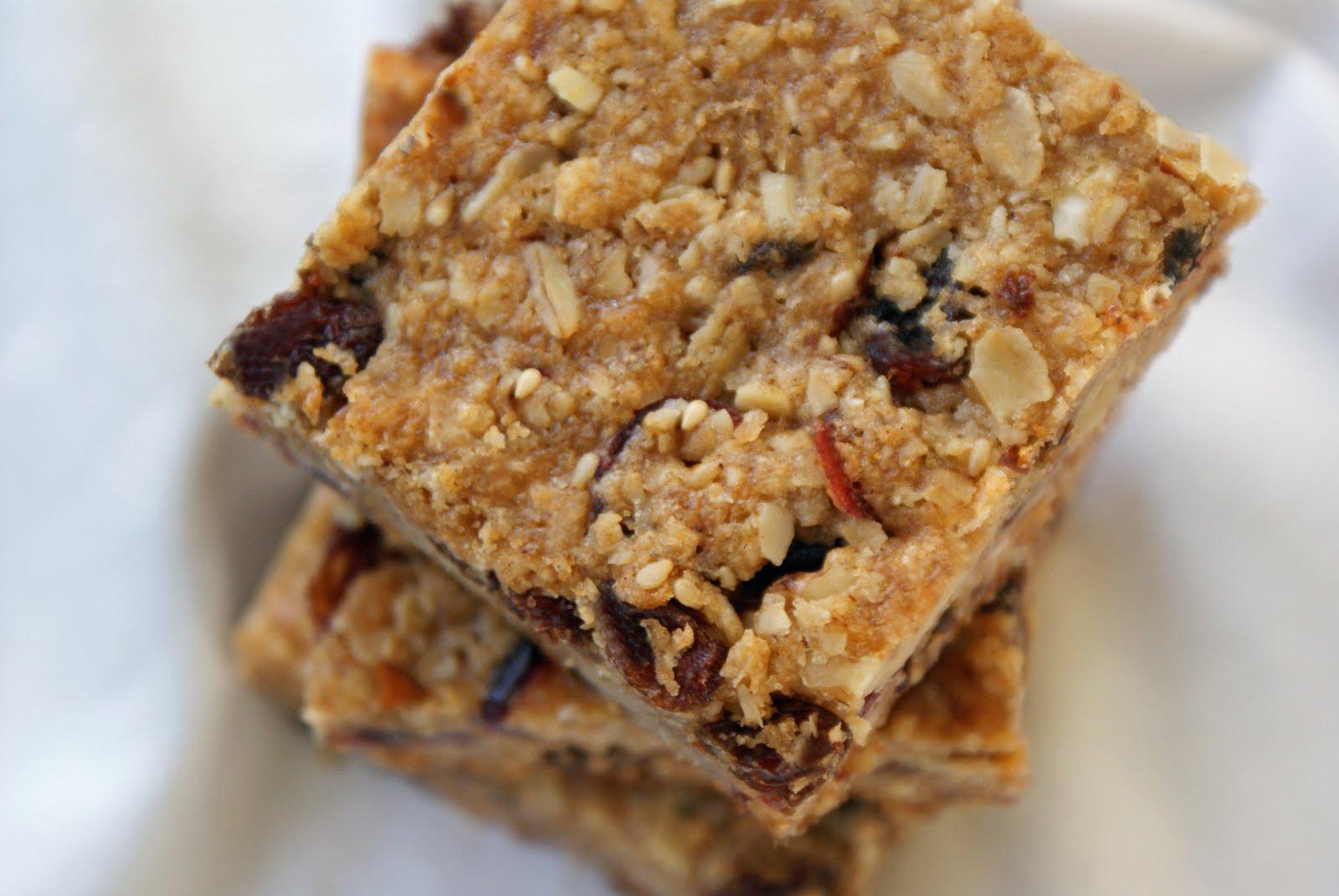 Chewy Granola Bars Recipe Dishmaps