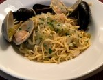 Spaghetti with Clams and Mussels