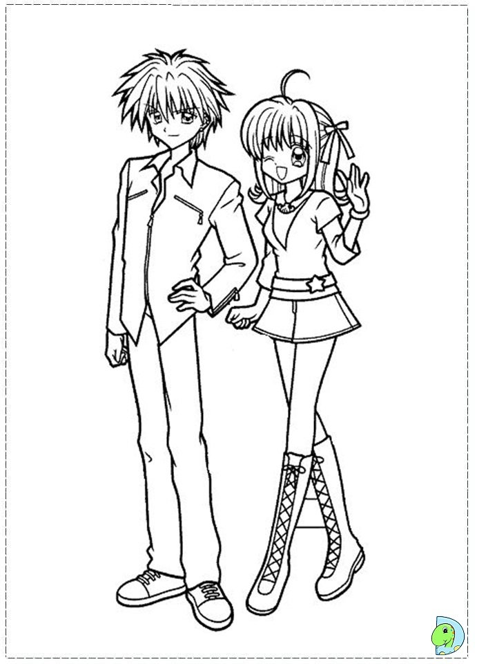 anime mermaid melody coloring pages sketch coloring page