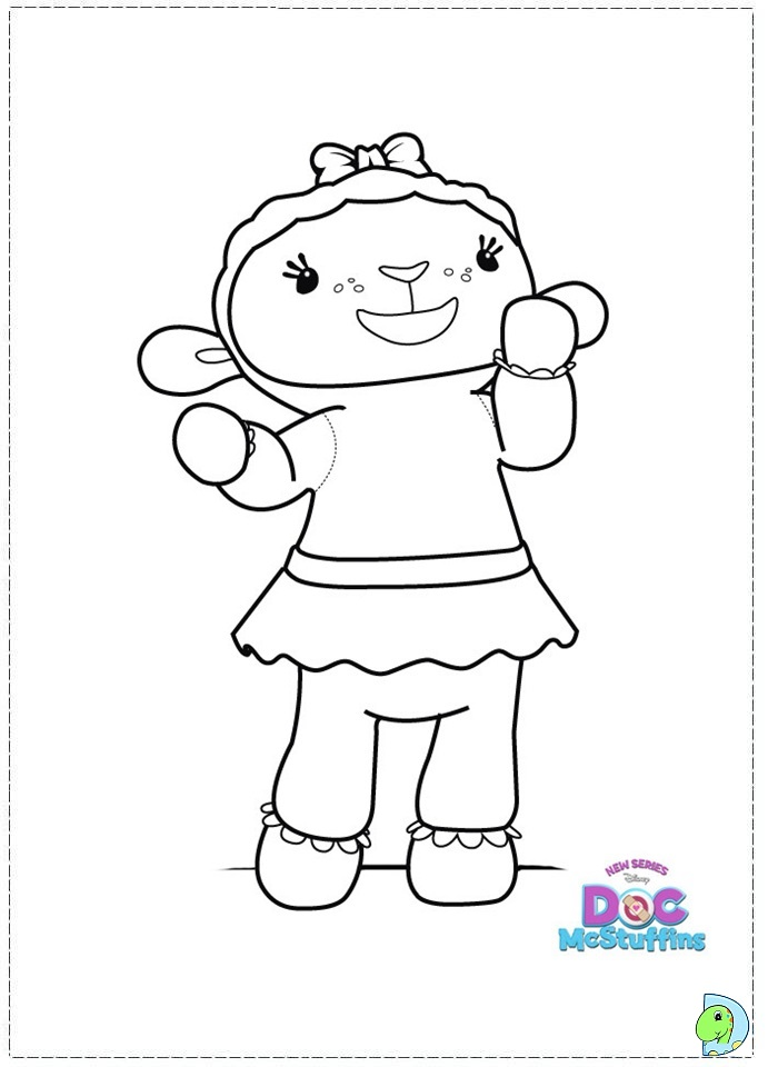 doc mcstuffins coloring pages doc mc stuffins coloring