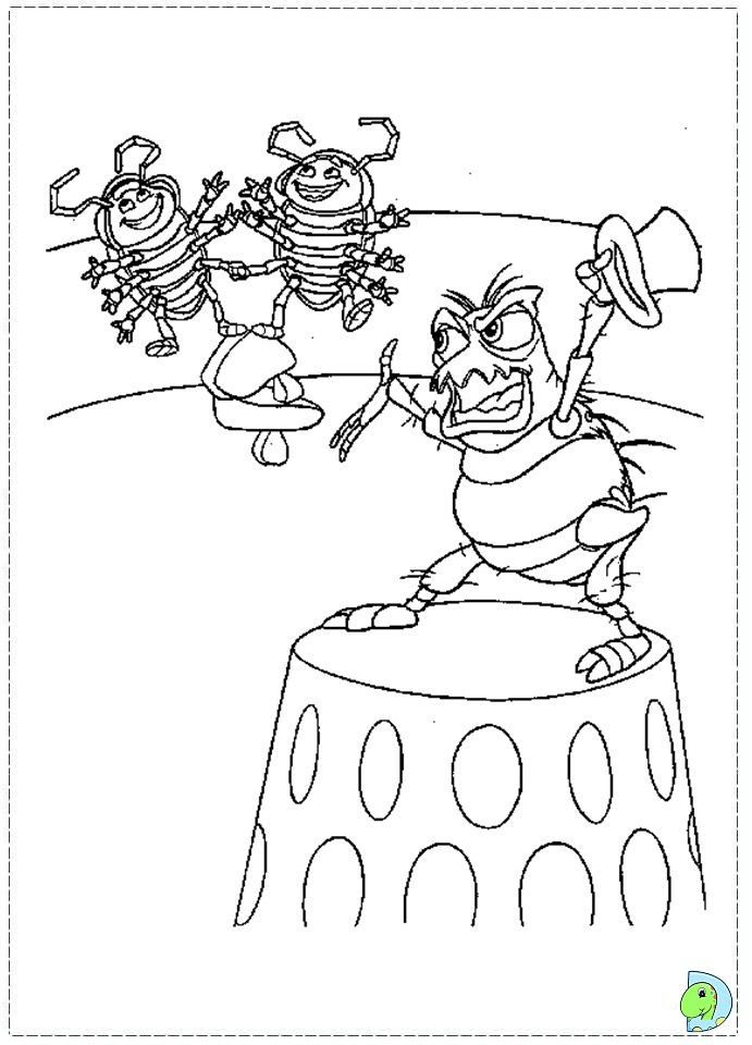 pin bugs life 02 coloring page on pinterest