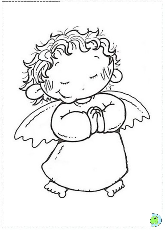angel page christmas angel colouring page dinokids org