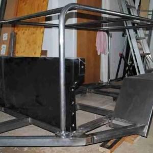 Jeep Trailer Frame Tied, Over the Tub Racks