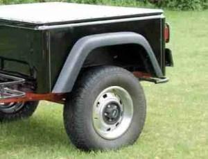 Jeep Trailer Fender Flare