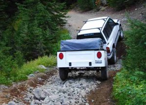 Dinoot Jeep Trailers Jeep Trailer Dinoot J-Series Fiberglass Tub Kit