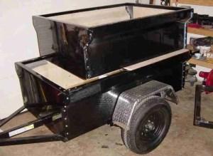 M416 Trailer DIY Dinoot Trailer Tub Kits Sizes