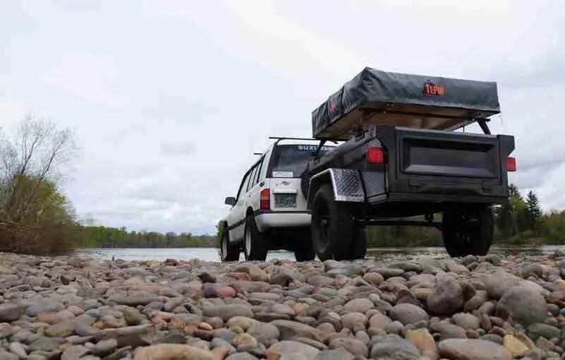 Jeep Trailer by Dinoot Trailers Fiberglass Tub Kit