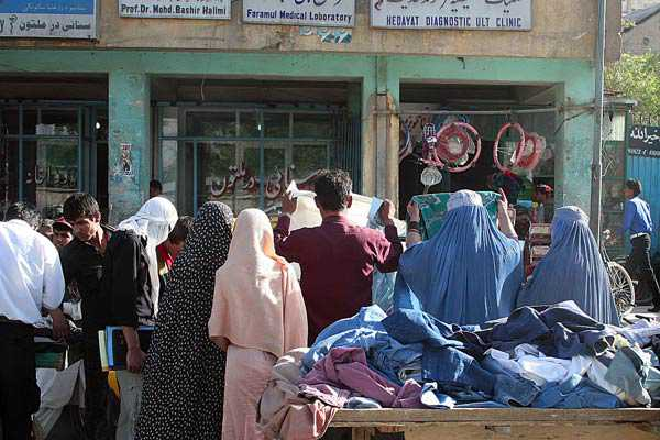 Marché en Afghanistan