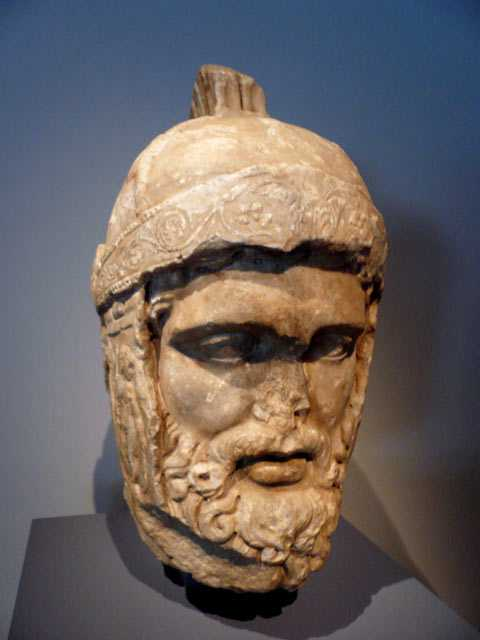 Mars, dieu romain de la Guerre . (Chicago Art Institute )