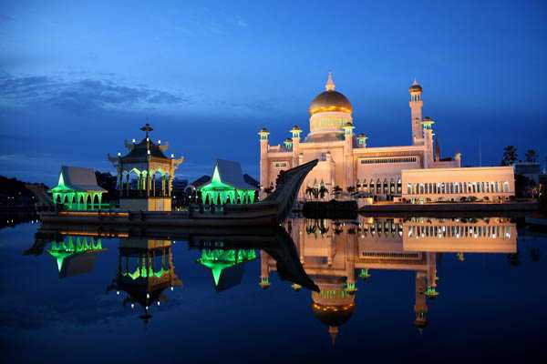 Mosquee de Brunei