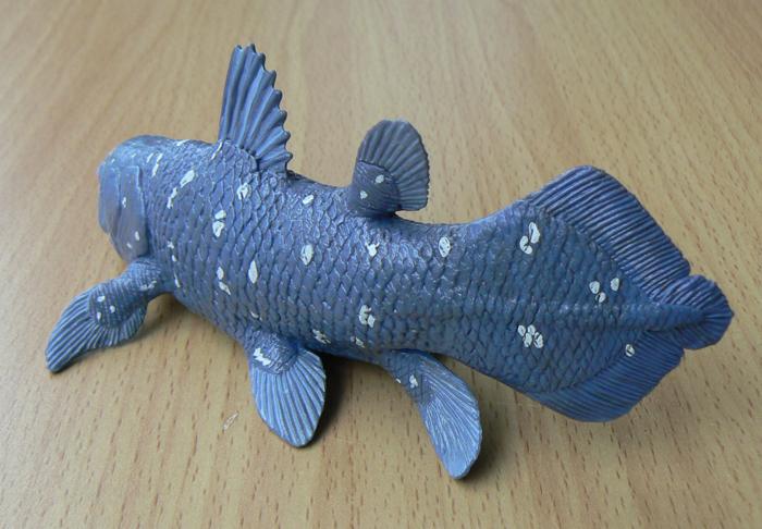 Coelacanth Toy Wild Safari