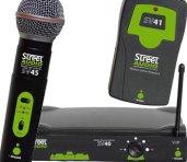 Set Microfono wireless Street-Audio
