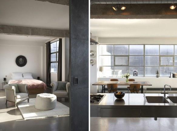 decorar loft estilo industrial vintage