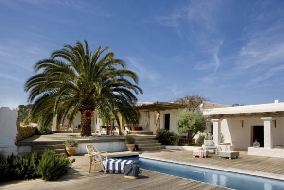 casa Formentera piscina
