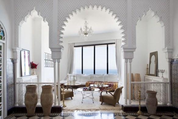 Decoración estilo mediterráneo étnico árabe