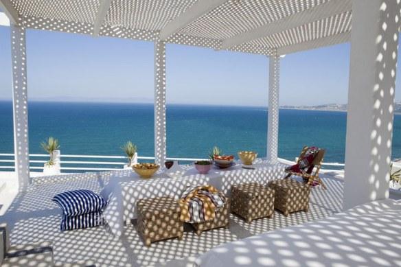 decoración terraza mediterráneo encanto