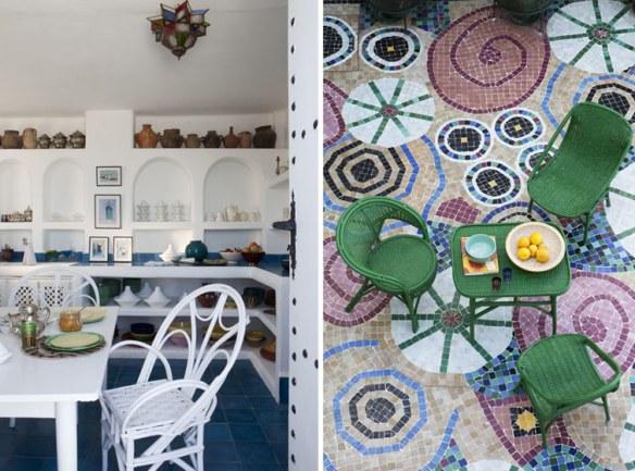 decoración mosaico azulejo tradicional