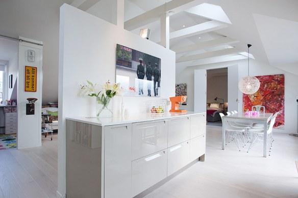 decoración cocina office moderna