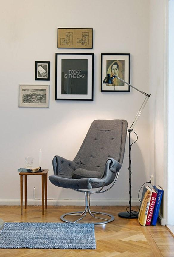 sillón lectura