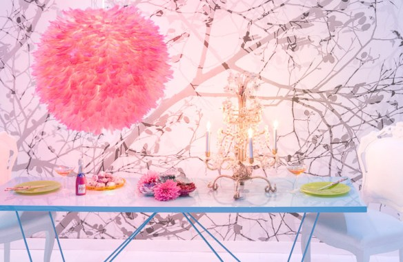 decorado glamouroso