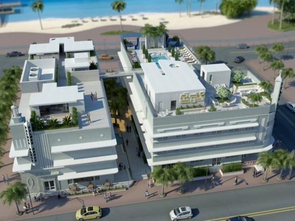infografia Dream South Beach Hotel