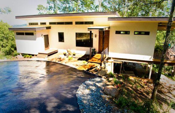 Hemp house - casa de cáñamo y papel