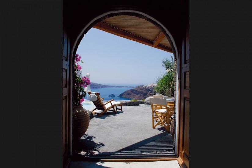 Hotel Perivolas en Oia Santorini 3