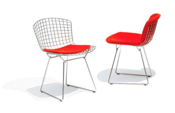 Bertoia Wired Side Chair
