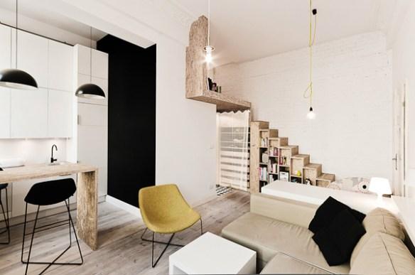 Apartamento de 29m2