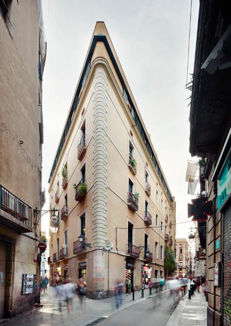 Un singular apartamento en el Barrio Gótico de Barcelona