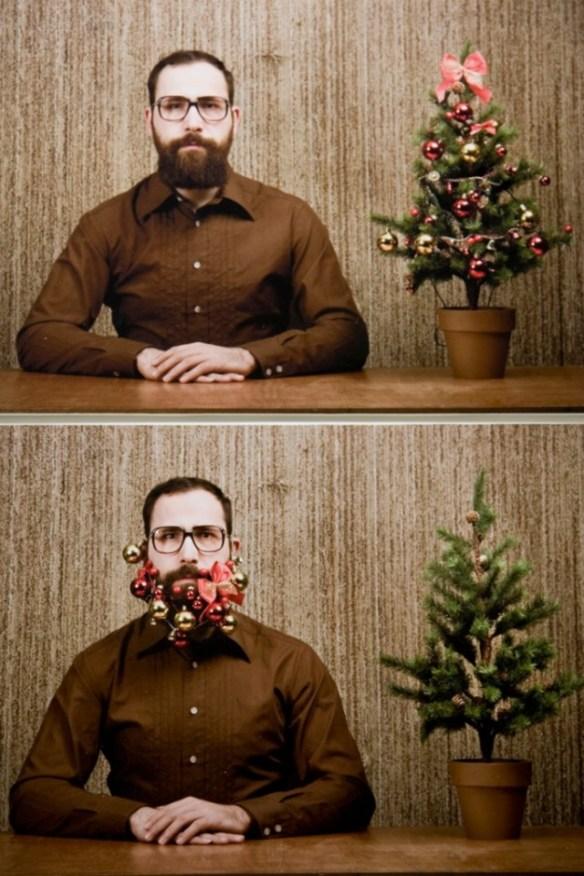 arbol de navidad surrealista