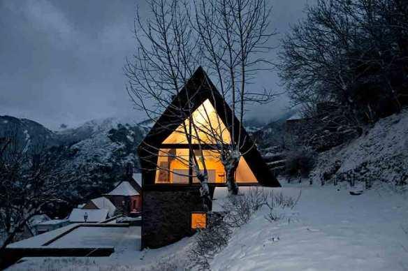 Casa en los Pirineos por Cadaval y Solà-Morales 9