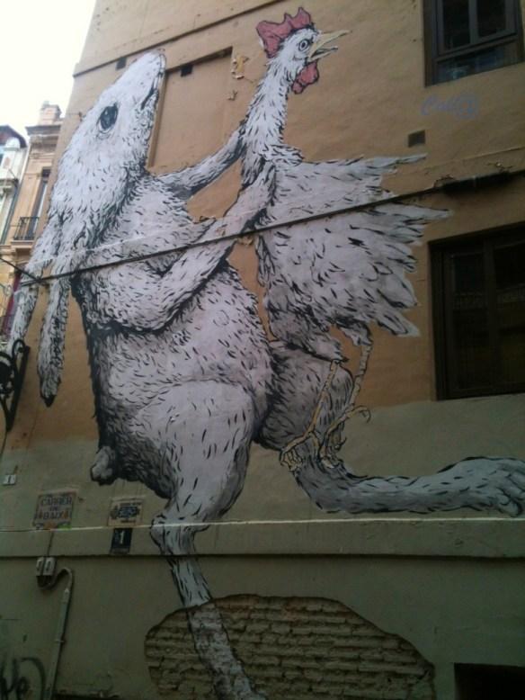 grafiti conejo