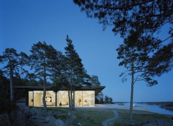 Casa del lago por John Robert Nilsson 2