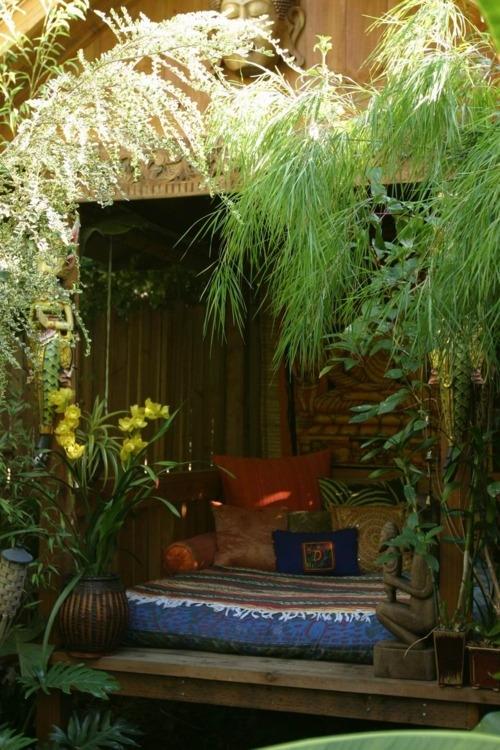 exotico jardin bohemio