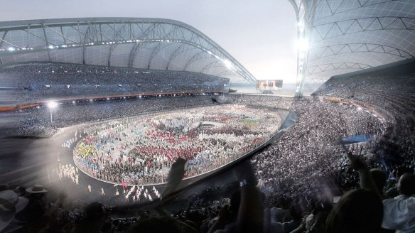 Juegos Olimpicos de Sochi, Estadio Olimpico Fisht 3