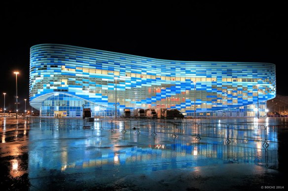 Juegos Olimpicos de Sochi, Iceberg Skating Palace