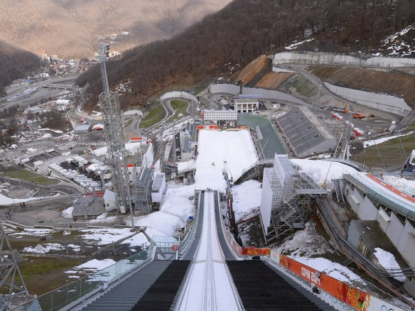 Juegos Olimpicos de Sochi, RusSki Gorki Jumping Center