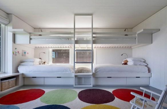 blanco dormitorio niños