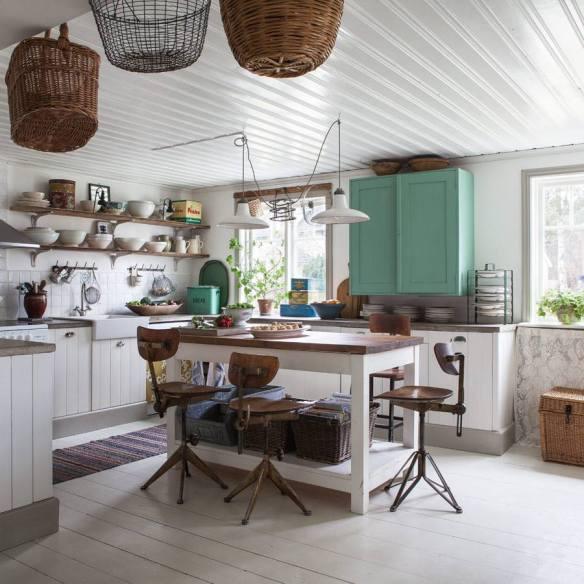 reforma cocina vintage industrial