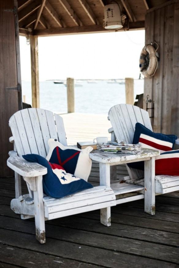 decorar terraza sillones