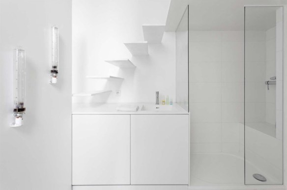 lavabo blanco